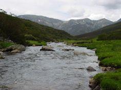 En el inicio de la primavera los ríos de montaña bajan bravos y henchidos de agua.
