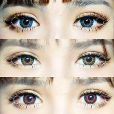 GEO EyesCream Circle Contact Lens (Colored Contacts). FREE SHIPPING Worldwide! http://www.eyecandys.com/eyes-cream-series-14-5mm/