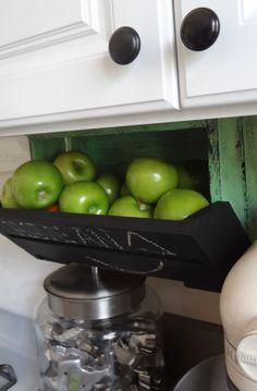 Kitchen Storage Under caBINet cabNEAT Crate  Bin CUSTOM Home Organizer Storage. $39.99, via Etsy.