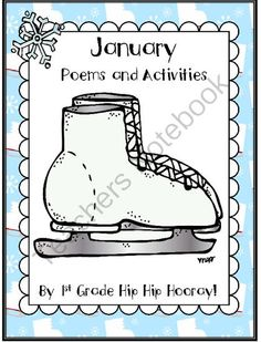 January Poems and Activities from First Grade Hip Hip Hooray on TeachersNotebook.com (28 pages)  - There are 4 poems complete with activities and a cut and paste the text in order page.