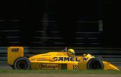 Ayrton Senna Lotus - Honda Monza 1987