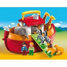 Playmobil - 6765 - Jeu de construction - Arche de Noé transportable: Amazon.fr: Jeux et Jouets