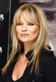 O corte de cabelo inspirado nos anos 70 é hit entre celebs, como Kate Moss.