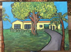 Artist from Saint Augustine FL. Commission based artworks and works for sale. Artworks, Saints, Artist, Christmas, Painting, Xmas, Artists, Weihnachten, Painting Art