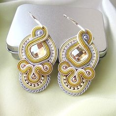 Loving these Soutache Earrings