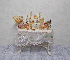 Dolls house miniature Ladies Victorian by uniqueminiatures on Etsy