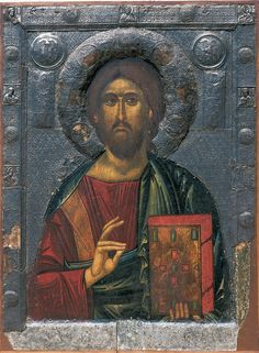 Christ as Savior of Souls, icon from the church of Saint Clement, Ohrid, Macedonia