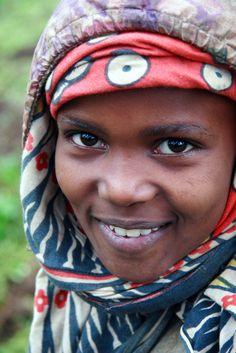 Ng'iresi Girl, Tanzania                                  (by Mitch Seaver)