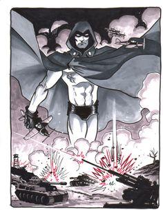 The Spectre by Matt Wagner Comic Art