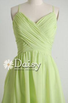2013 Short Bridesmaid Dress Aline Green by DaisyBridalHouse, $79.00