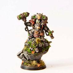 Warhammer Age of Sigmar | Kharadron Overlords | Arkanaut Admiral http://wellofeternitypl.blogspot.com #warhammer #ageofsigmar #aos #sigmar #wh #whfb #gw #gamesworkshop #wellofeternity #miniatures #wargaming #hobby #fantasy