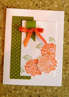 All Occasion Card with Flowers by TwoYellowDaisies on Etsy, $3.50