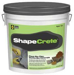 Plays Like Clay, Works Like Concrete | ShapeCrete.com | ShapeCrete
