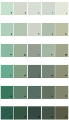Pratt And Lambert Calibrated House Paint Colors Palette 13
