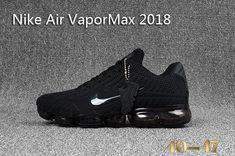 quality design 8df8e 9d54f Latest New Style Nike air Vapormax 2018 KPU Mens Sneakers Triple Black
