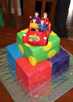 Wiggles cake! #cakesbyamanda Wiggles Birthday, Wiggles Party, 2nd Birthday, Birthday Parties, Birthday Ideas, Wiggles Cake, The Wiggles, Birthday Party Decorations, Party Themes