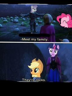 Frozen my little pony