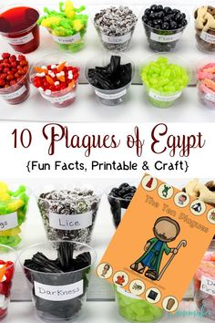 Do you want to teach your children about the 10 plagues of Egypt in a creative way? I have a really unique way to accomplish this by adding in a craft for the kids. Did I mention that while you teach, your kids can eat and learn? Bible Crafts For Kids, Bible Study For Kids, Bible Lessons For Kids, Kids Church Crafts, Kid Crafts, Creative Crafts, Children Church Lessons, Moses Bible Crafts, Easy Crafts