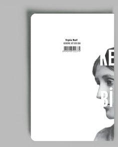 Virginia Woolf Book Series by Zehranur Gündüz, via Behance