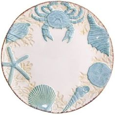 Stoneware Seashell Dinner Plate http://shop.crackerbarrel.com/Stoneware-Seashell-Dinner-Plate/dp/B00IO4YV0O