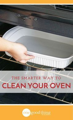 Wondering how to clean your oven? This simple method that makes it downright easy, and it requires much less elbow grease!
