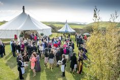 A great spot for a Wedding on Cornwall's North Coast. This is Roscarrock farm