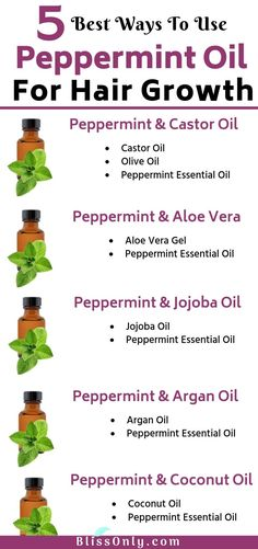 Check out how to use peppermint oil for hair growth. It provides many benefits to hair like treating dandruff, dry, frizzy hair, split ends, hair loss and more. It gives required nutrition to your scalp and promotes thick and strong hair growth. Why Hair Loss, Stop Hair Loss, Prevent Hair Loss, Argan Oil For Hair Loss, Hair Loss Shampoo, How To Treat Dandruff, Treating Dandruff, Dandruff Remedy, Essential Oils For Hair