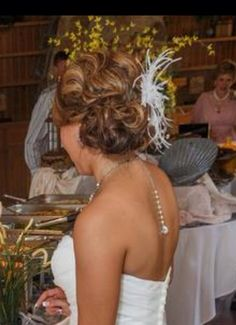 Special occasion Wedding hair updo I did on this beautiful bride . #hairbymichelle