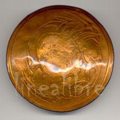 técnica: Basse taille - esmaltado a fuego sobre cobre