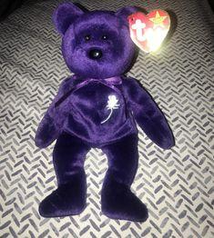 Princess Diana TY Beanie Baby 1997 Rare | Etsy Princess Diana Beanie Baby, Ty Beanie, Dinosaur Stuffed Animal, Childhood, Teddy Bear, Compassion, Toys, Heaven, Handmade Gifts