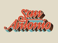 Type / typeverything.com,San Antonio by Andy Anzollitto