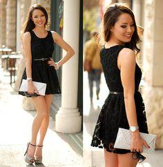 Little Black Dress (by Jessica R.) http://lookbook.nu/look/4739483-Little-Black-Dress