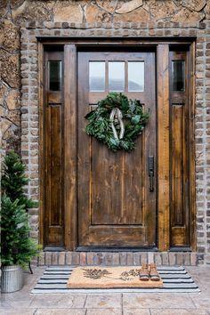 Pure Woodland Inspired Front Door