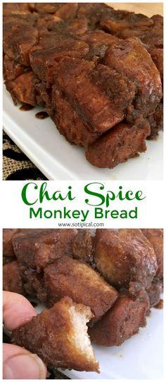 Chai Spice Monkey Bread - So TIPical Me #DegustaboxUSA ad