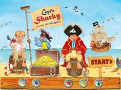 Capt'n Sharky iOS iPad iPhone App