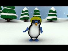 Created this one while working for team Cardinals at ADA sport animation competition. All rights reserved by ADA SPORT INC. Link to ADA contest video is http. Preschool Christmas, Christmas Activities, Winter Fun, Winter Theme, Penguin Dance, Brain Break Videos, Penguins And Polar Bears, Kindergarten Songs, Winter Art Projects