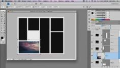 how to make a template for multiple photos in photoshop