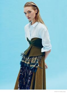 Finally – her comeback! Gemma Ward is a Vision in Photo Shoot for Sunday Style October 2014. Read all on stylethemonkey.com