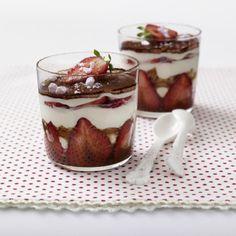 Erdbeer-Tiramisu im Glas Rezept