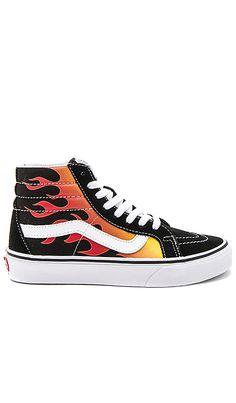 VANS UA SK8 HI SLIM NEON LEATHER Sneakers Fuchsia women Footwearvans outlet camarilloreputable site