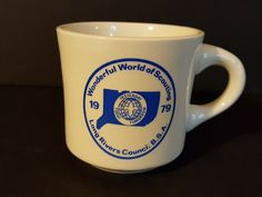 Vintage Wonderful World of Scouting 1979 Long Rivers Council Coffee Mug Cup Best Coffee Mugs, Coffee Mug Sets, Mugs Set, Tea Mugs, Coffee Cups, Vintage Boys, Coffee Drinkers, Scouting, Boy Scouts