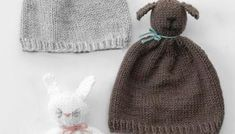 rib knit hat Pom Pom Pet Hats Knitting Pattern - Little Red Window Easy Baby Knitting Patterns, Teddy Bear Knitting Pattern, Crochet Patterns For Beginners, Pattern Library, Pretty Kitty, Cat Hat, Knitting Projects, Stitch Patterns, Knitted Hats