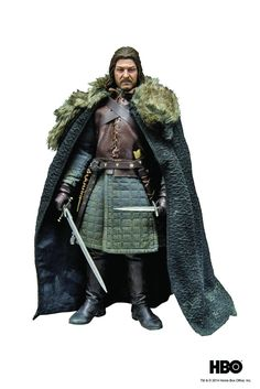 Game of Thrones - Eddard Stark PVC Statue (23cm)  Manufacturer: ThreeA Barcode: 4897056200104 Enarxis Code: 014250 #toys #statues #Game_of_Thrones #Stark