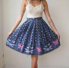 butterfly skirt.