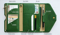 長財布 これ1つで旅が快適に♪マルチトラベルパスポートケース/長財布(3)