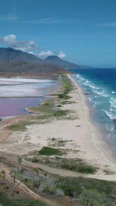 Playa las salinas, Pampatar, isla de Margarita ,Venezuela...