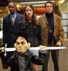 Angel as a puppet was adorable! Though if I remember correctly, Buffy probably wouldn't be to thrilled. (fear of puppets and all)  : )