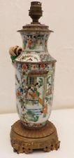 Vase Monté En Lampe, Porcelaine Asiatique, Chine Ou Japon, XIX ème