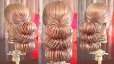 Причёска на резинках - Пучки