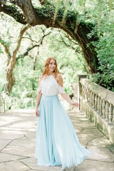 Chiffon Bridesmaid Top is our Separates Collection. Peyton Chiffon Top with split hem Bridesmaid Skirt And Top, Unique Bridesmaid Dresses, Sequin Bridesmaid Dresses, Chiffon Dresses, Blue Wedding Dresses, Boho Wedding Dress, Chiffon Tops, Bridal Dresses, Bridesmaids